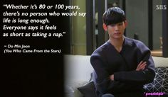 You Who Came From the Stars (2014) quotes / Man From the Stars