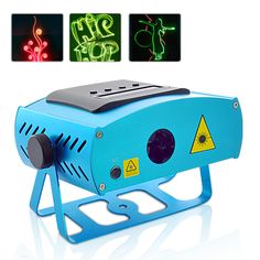 Party Laser - Programmable Laser Light Show System with 99 Preprogrammed Design Patterns New Gadgets, Cool Gadgets, Laser Stage Lighting, Laser Show, Diy Backdrop, Dj Equipment, Digital Tv, Electronics Gadgets, Sd Card