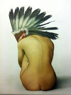Vulnerable Strength, | Oil on canvas 120x150cm