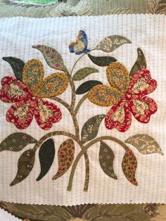 Applique Quilt Patterns, Hand Applique, Applique Designs, Quilting Room, Quilting Projects, Quilting Designs, Patch Quilt, Quilt Blocks, Caswell Quilt