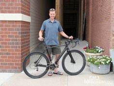 Dan hughes is the reigning dirty kanza 200 champion, finishing this year's race in 12:03:39. his weapon of choice was a specialized crux car...