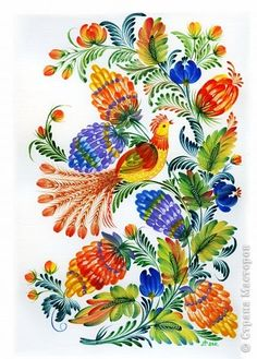 Калина фото 5 Russian Folk Art, Fabric Jewelry, Scandinavian Design, Vibrant Colors, Decoupage, Weaving, Bloom, Birds, Graphic Design