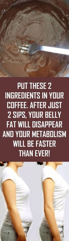 Put These 2 Ingredients in Your Coffee. After Just 2 Sips, Your Belly Fat Will Disappear And Your Metabolism Will Be Faster Than Ever! Put These 2 Ingredients in Your Coffee. After Just 2 Sips, Your. Detox Drinks, Healthy Drinks, Get Healthy, Healthy Tips, Healthy Snacks, Healthy Recipes, Sugar Detox Recipes, Health And Beauty, Health And Wellness