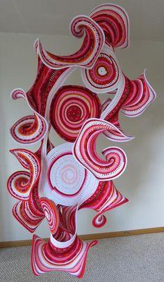Hyperbolic crochet by Gabriele Meyer