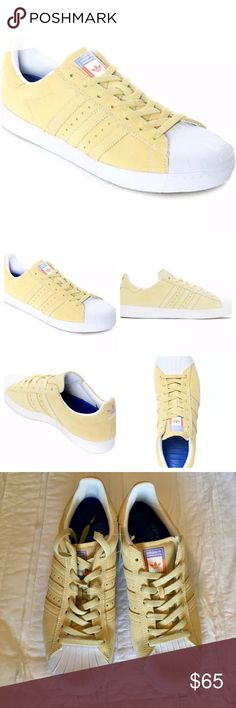 differently 5e391 cecca NWT Adidas Superstar Vulc ADV Skateboarding Suede NWT Adidas Superstar Vulc  ADV Skateboarding Suede Sneakers Size