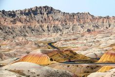 Badlands, National Park, South Dakota, USA 20 surreal places you need to see to believe South Dakota Vacation, South Dakota Travel, North Dakota, Badlands National Park, Dakota Do Sul, Places To Travel, Places To See, Places Around The World, Around The Worlds