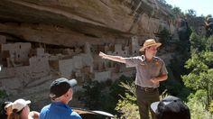 Cliff dwellings at Mesa Verde National Park