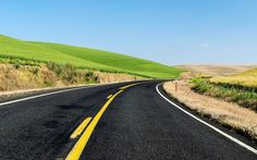 """""""On The Road Again"""" -- #wallpaper by """"Youen California"""" from http://interfacelift.com -- I love driving in the USA but I can't drive for more than five minutes without stopping to take pictures of these great landscapes."""