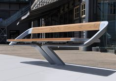 This furniture suite won the International Lusail Street Furniture design competition and has been supplied to the city of Lusail in Qatar. Designer: Daniel So Urban Furniture, City Furniture, Street Furniture, Metal Furniture, Industrial Furniture, Contemporary Furniture, Garden Furniture, Furniture Design, Marina Furniture
