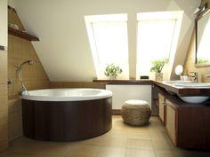 badkamer modern schuin dak - Google zoeken