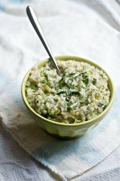 Broccoli & Parmesan Israeli Couscous