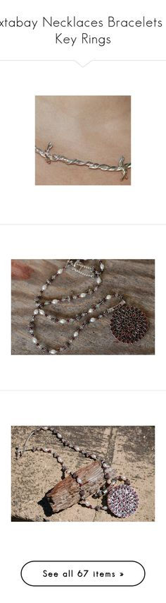 """Yxtabay Necklaces Bracelets & Key Rings"" by yxtabay ❤ liked on Polyvore featuring claw, rave, rings, skull, jewelry, necklaces, pendant jewelry, pearl jewelry, white pearl pendant necklace and pearl jewellery"