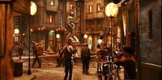 The Hidden City is similar to that found in the City of Ember.