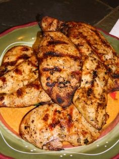 Finger-Licking Chicken Marinade - If you don't have Miracle Whip, mayonnaise may be substituted. I usually marinate chicken in the marinade at least 30 minutes before cooking… Meat Marinade, Chicken Marinade Recipes, Chicken Marinades, Grilling Recipes, Cooking Recipes, Healthy Recipes, Easy Chicken Breast Marinade, Vinegar Chicken Marinade, Marinated Grilled Chicken