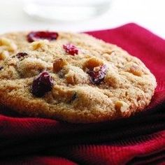 Cranberry-Orange-Nut Cookies - EatingWell.com