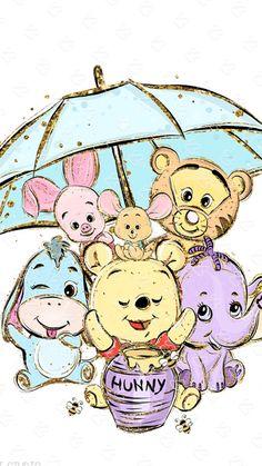 wallpaper ipad Wallpaper iPad Disney Winnie The Pooh Disney Phone Wallpaper, Cartoon Wallpaper Iphone, Cute Cartoon Wallpapers, Cute Winnie The Pooh, Winnie The Pooh Friends, Kawaii Disney, Disney Art, Cute Disney Drawings, Cute Drawings