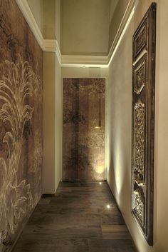 Luxury means exclusivity and custom-made. Architect Luca Tausani has chosen Inkiostro Bianco wallpapers for a unique interiors design project of a private house in Cattolica (RN) – Italy.