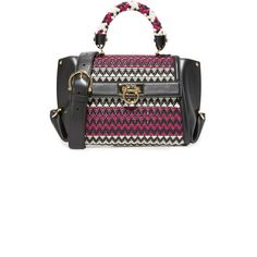 Salvatore Ferragamo Sofia Mini Satchel ($2,800) ❤ liked on Polyvore featuring bags and handbags