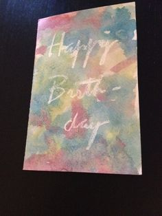 Watercolor Birthday Cards, Inspirational Quotes, Fun, Kids, Painting, Style, Life Coach Quotes, Young Children, Swag