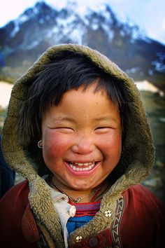 Everyone smiles in the same language. I want pictures of smiling children from all walks of life to be on the walls of my classroom.