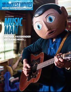 Love it!!! lol! :) -Michael Fassbender Gets A Big Head...