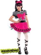 Girls Monster High Draculaura Costume - Party City---Elle likes for Halloween