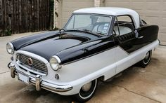 1959 Nash Metropolitan... I love these! Just my size ;-)