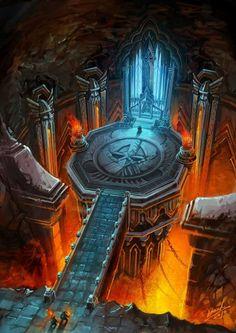 Underdark Dwarf Temple