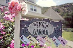 Alice in Wonderland Entrance Idea