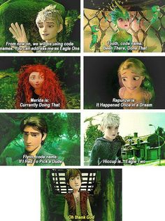 Hahaha, love this! And Hiccup gets be to Jack's wingman. Sweet! lol XD