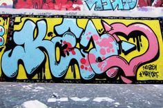 And no easy way in. New Keno wall in Paris