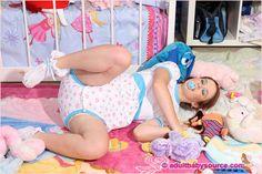 #adult-baby #girl #onesie #abdl