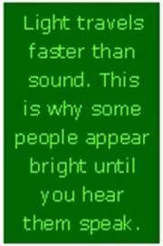 As I've gotten older I've learned to speak less.