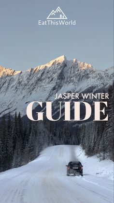 Located in the middle of the national park and with fantastic views of the surrounding mountain ranges, Jasper is the perfect starting point for your next winter adventure! Jasper Park, Park Lodge, Canadian Rockies, Day Hike, Mountain Range, Small Towns, Us Travel, National Parks, Fireplace Outdoor