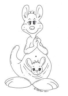 top 10 free printable kangaroo coloring pages online   kangaroos ... - Kangaroo Coloring Pages Printable