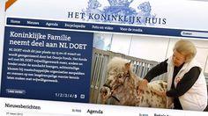Koninklijk Huis op internet  Ondanks de kritiek van Koningin Beatrix op het internet heeft het Koninklijk Huis een website.