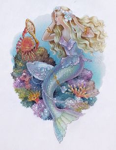 The Mermaid Princess by Shirley Barber
