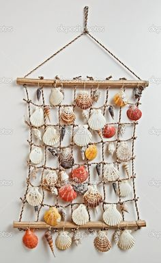 seashell decor | Sea shell decor | Stock Photo © MrHamster #3478166