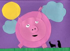 This Fun Three Little Pigs Craft about Circles includes a template to make it a bit easier for little hands. Share this simple circle pig craft to help preschoolers learn about shapes and the story of the Three Little Pigs! Pig Crafts, Farm Crafts, Daycare Crafts, Preschool Crafts, Preschool Shapes, Preschool Literacy, Preschool Ideas, Barn Wood Crafts, Pig Art