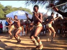 In Botswana, a team of young local dancers entertain the crowd with an exciting piece of traditional Tswana dance during a wedding in Tlokweng. Afro Dance, All About Africa, Chobe National Park, Africa People, African Dance, Tribal Dance, Dance Music Videos, Folk Dance, Lets Dance