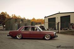 Sweet slammed W123 Benz