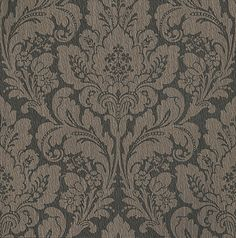 dark brown // damask