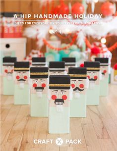 A Hip Handmade Holiday: Digital craft book // by The Craft Pack, $10