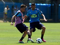 Emanuele #Giaccherini Photos - Italy Training Session