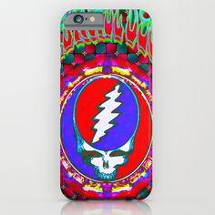 Grateful Dead #10 Optical Illusion Psychedelic Design iPhone & iPod Case