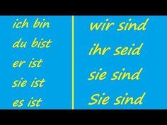 ♫ Sein Conjugation Song ♫ German Conjugation ♫ Das Lied der Konjugation von Sein ♫ - YouTube