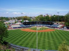 McCormick Field - home to the Asheville Tourists http://www.ashevilleguidebook.com/wnc/cultural-attractions/images/Asheville%2520031.JPG