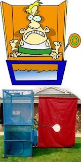 SUPER PARTY GAMES: How to build a Dunk Tank !
