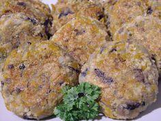 Smak Zdrowia: Kotlety pieczarkowe z kaszą jaglaną