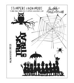 STAMPERS ANONYMOUS-Tim Holtz Collection: Cling Rubber Stamps. These red rubber stamps come mounted on cling foam so you can use them with any acrylic block (sold separately). Great for using with Tims